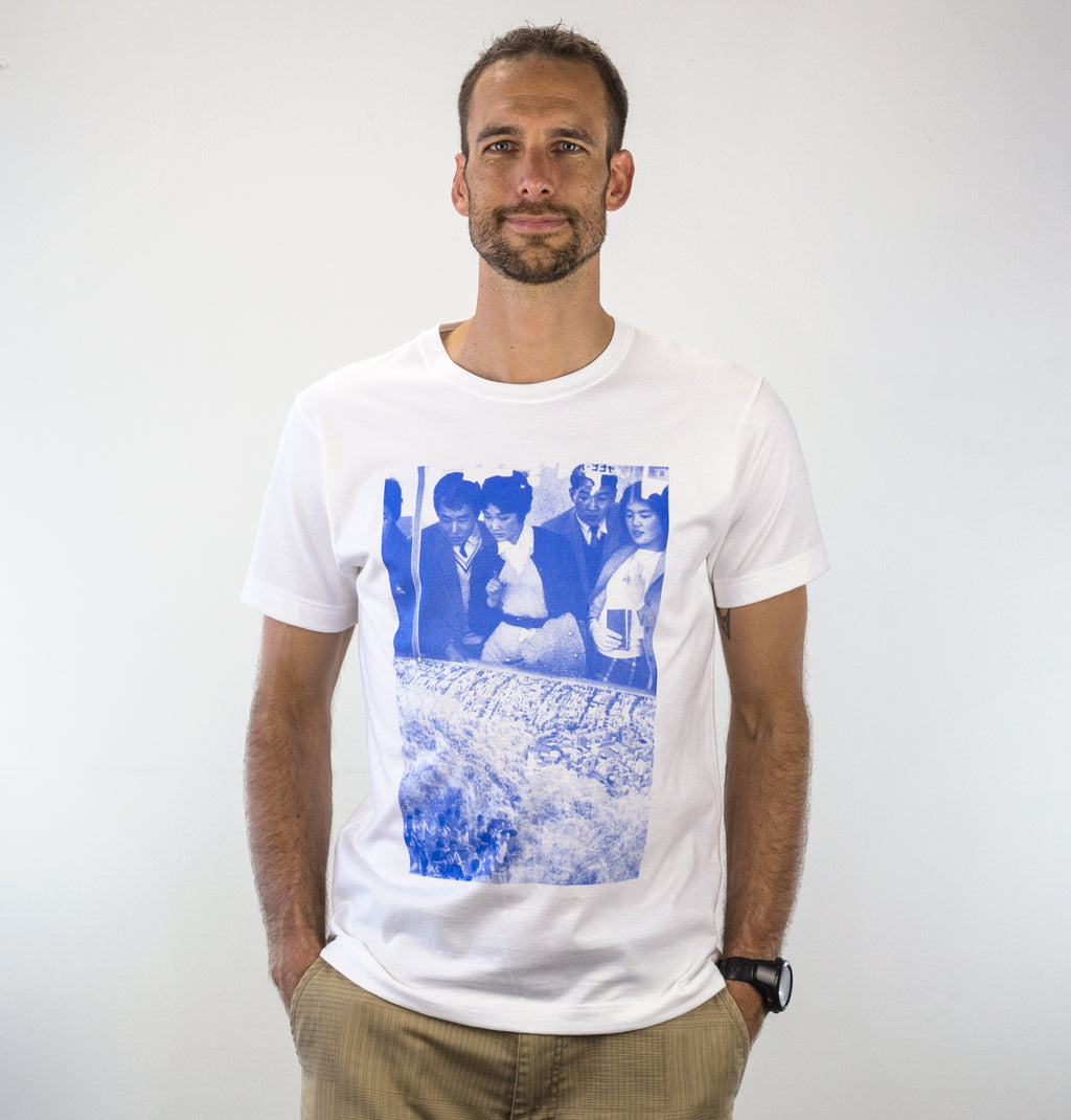 Waterfall, by David Muoz, on Groovink t-shirt