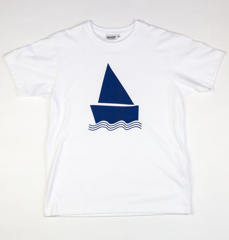 Easy Boat, by Groovink, on Groovink t-shirt