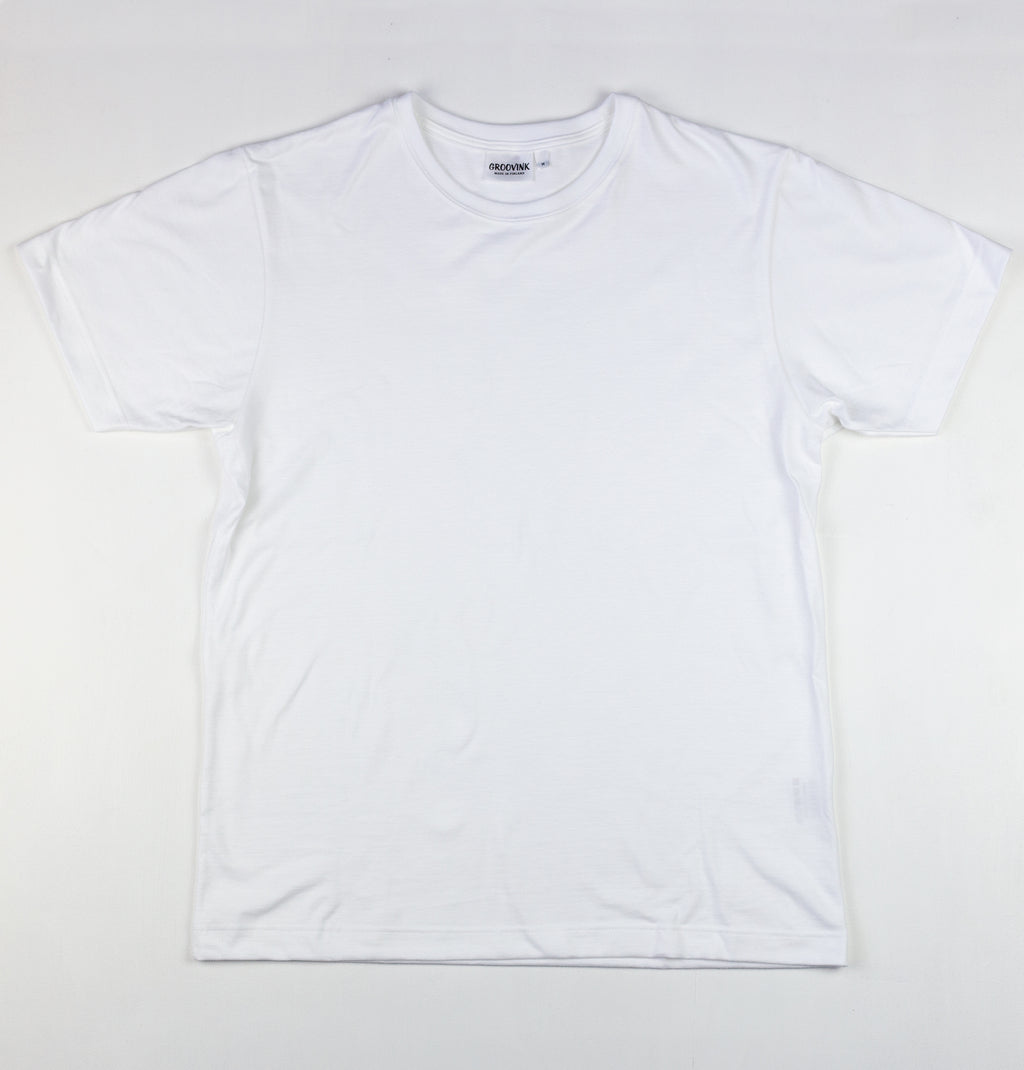 Groovink blank t-shirt, 100% organic cotton, made in Finland
