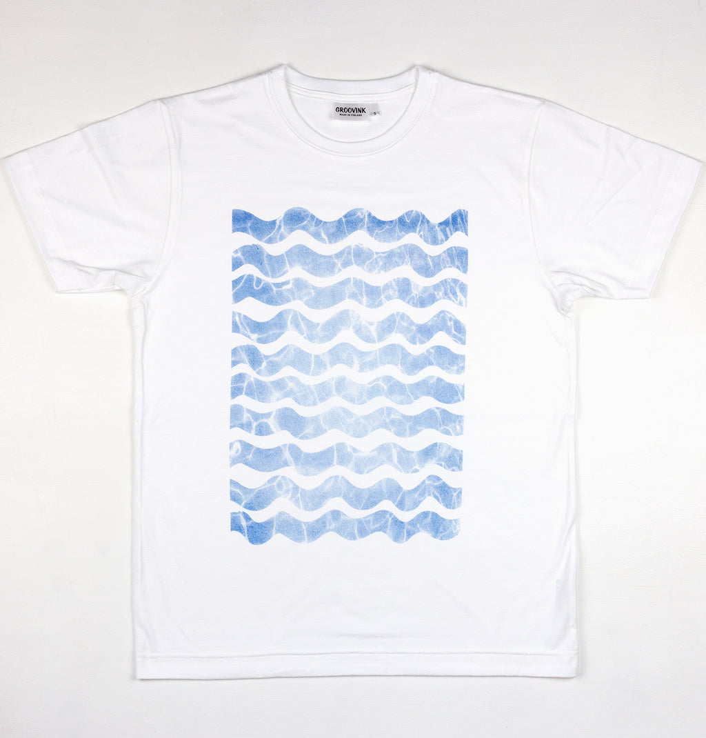 Waves, by Groovink, on Groovink t-shirt