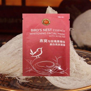 Skin Brightening Birds Nest Facial Mask With Rose Hip (Pack Of 5)