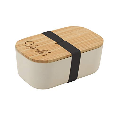 Vanli's Japanese Eco-Friendly Bamboo Fiber Bento Box 37 oz