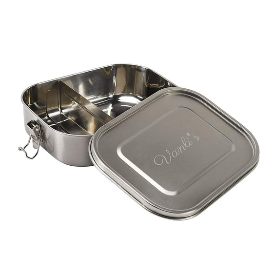 Vanli's Leak-Proof Stainless Steel Bento Lunch Box 47oz