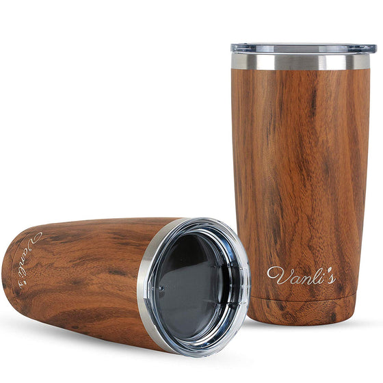 Vanli's Thermal Stainless-Steel Travel Tumbler 20oz