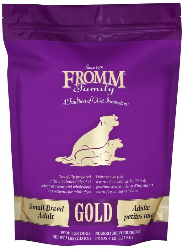 Fromm Adult Gold Small Breed Dry Dog Food - City Paws Pet Club