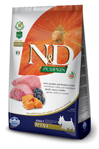 N&D Lamb & Blueberry Adult Mini Dry Dog Food - City Paws Pet Club