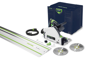 Festool Emerald Edition TS 55 REQ / FS Plunge Cut Track Saw w/ Free Blade