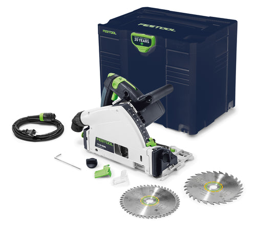 Festool Emerald Edition TS 55 REQ Plunge Cut Track Saw w/ Free Blade