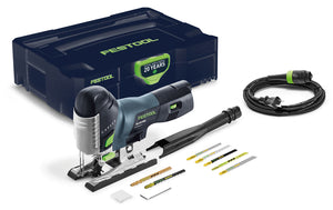 Festool Emerald Edition PS 420 EBQ Jigsaw includes (Blade Assortment Pack)