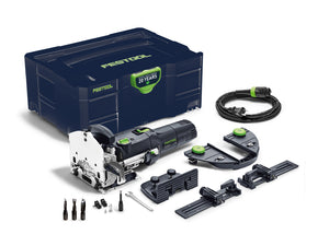 Festool Emerald Edition Domino Joiner DF 500 Q Set w/ FREE 3-Piece Cutter Set