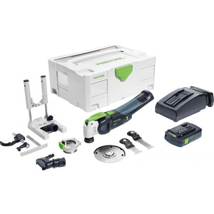 Festool Vecturo OSC 18 (StarlockMax) Cordless Multi-Tool Set w/ 1 (3.1 Ah) battery and Charger