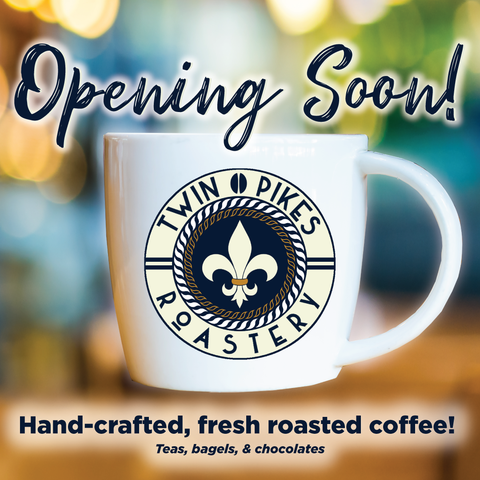 Twin Pikes Roastery Opening Soon!