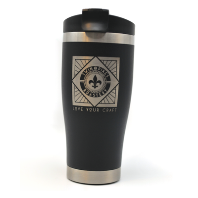 "Engraved 16oz. ""Love Your Craft"" Tumbler -  Twin Pike Company"