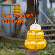 1 PC Wasp Catcher Hornets Traps Home Garden Wasp Fly Flies Insects Tree Hanging Trap Catcher Killer Outdoor Fly Catcher