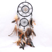 1 Pc Home Decorations Dream Catcher With Feathers Handmake Wall Hanging Decoration Ornament Gift
