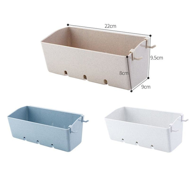 1 Pcs Multi-Functional Organizer Shelf Hollow Out Kitchen Shelf Wall Storage Shelf Shower For Bathroom Washing Room Kitchen