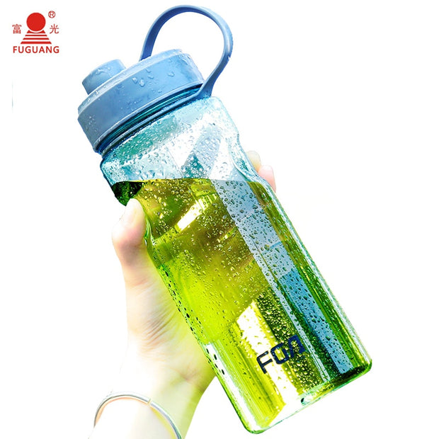 1000ML High Quality Drop Resistance Large Capacity Plastic Tea Infuser Portable Space Cup Outdoor Sports Hiking Water Bottle