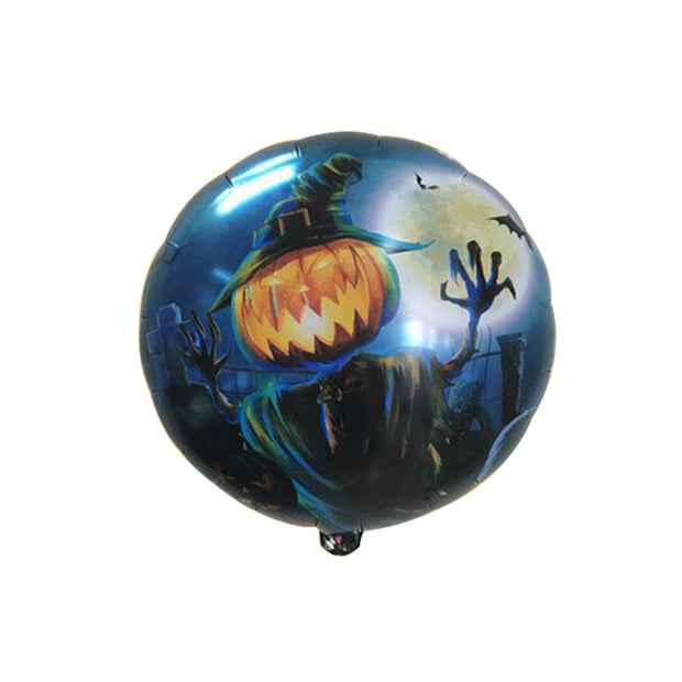 Round blue pumpkin