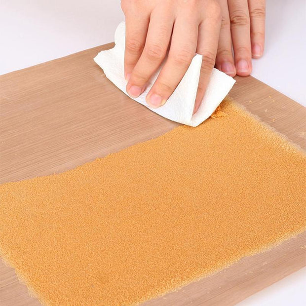 10pcs 40x30cm Pastry Baking Oil Paper Mat Oilcloth Kitchen Non-stick High Temperature Resistant Fabric Cloth Oven Oil Paper