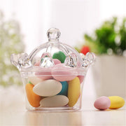 12PCS Transparent Plastic Candy Box Wedding Stand Box Wedding Party Sugar Candy Box Birthday Party Decor Candy Boxes For Wedding