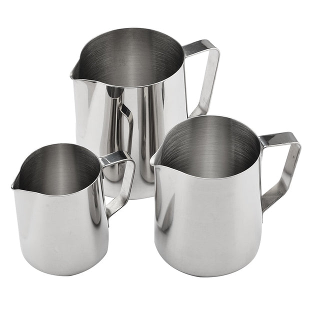 150ml/250ml/350ml/600ml/1000ml Stainless Steel Milk Frothing Pitcher Coffee Mug Cup Espresso Latte Art Mug Jug Foam Contai