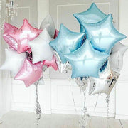 18inch Star Foil Balloons For Baby Birthday Party Decorations Wedding Room Decor Kids Baby Shower Christmas Event Party Supplies