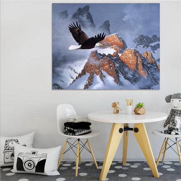 1PC Non-Woven Animal Oil Painting On Canvas Posters On The Wall Picture Wall Art Home Decoration