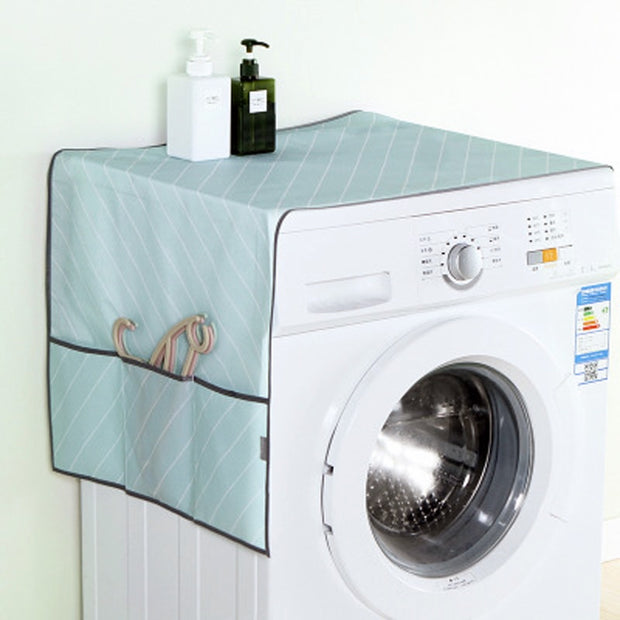 1PC Waterproof Refrigerator Cover Cloth Dust Cover With Storage Bag Oxford Cloth Hanging Bag Home Appliance Top Cover