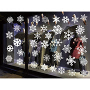 1Set New Style Merry Christmas Background Window Wall Decoration Removable Wall Stickers