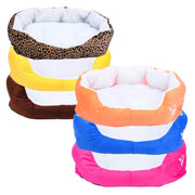 1pc 50x40cm Pet Dog Bed Cotton Warming Dog House Soft Material Dog Cat Kennel Warm Winter Dog Cat Pet Products