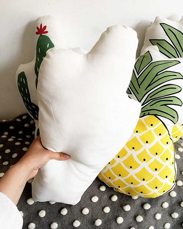 1pcs Pineapple Cactus Shape Cushion For Children Baby Soft Stuffed Plush Rests Pillows Bed Sofa Car Cushions Birthday Gift