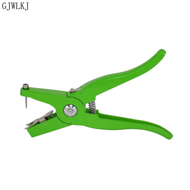 1pcs Animal Ear Label Pliers Mark Perforated Tool Tweezers Tag Installer Pig Cattle And Sheep Veterinary Ear Tag Pliers