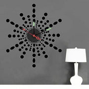 1x Wholesale Large Frameless DIY Wall Stickers Clock Creative Designer Room Decor 10A251B MAX3 Brand Room Decor