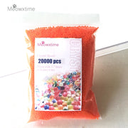 20000pcs/bag Crystal Soil Hydrogel Gel Polymer Water Beads Flower/Wedding/Decoration Maison Growing Water Balls Big Home Decor