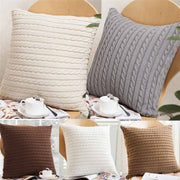 2018 Knitting Fashion Throw Pillow Cases Acrylic Fibres Cafe Cushion Home 45cm*45cm Dropshipping &925