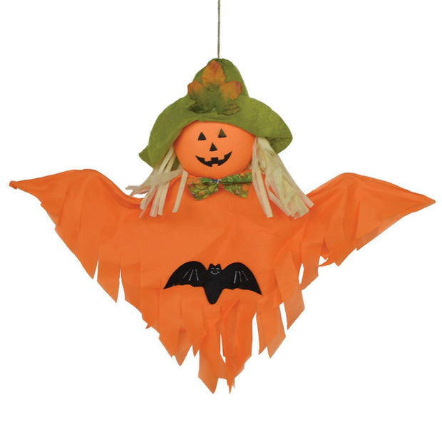 2018 USPS Festive Fashion Halloween Emojis Flying Shaped Hanging Indoor Outdoor Party Decoration Toy Kids Gift Pumpkin