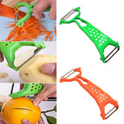 24 Pieces/bag Vegetable Fruit Peeler Parer Julienne Cutter Slicer Peel Kitchen Tool Gadget