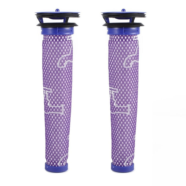2pcs Washable & Reusable Drinking Fountains Filter Premium Filter Pre-Motor Filter Replacement For Dyson DC58 DC59 V6 V7 V8
