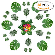 3-60 Pcs / Set Tortoise Leaf Table Flag Placemat Wall Wedding Home Decoration Turtle Leaves Artificial Plant Artificial Flower