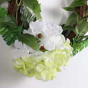 30cm Hydrangea Flower Door Wreath Wall Ornament Christmas Party Decoration Christmas Decorations For Home Natale