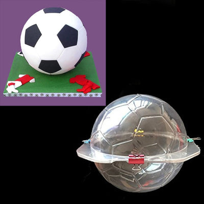 3D Football Soccer Mold Candy SugarPaste Chocolate Molds Fondant Cake Decorating Tools For Baking Cake Mold Kitchen Accessories