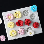 3D Silicone Cake Moulds Sunflower Mold DIY Cake Baking Mold Fondant Cake Decorating Tool Chocolate Cookie Kitchen Decor
