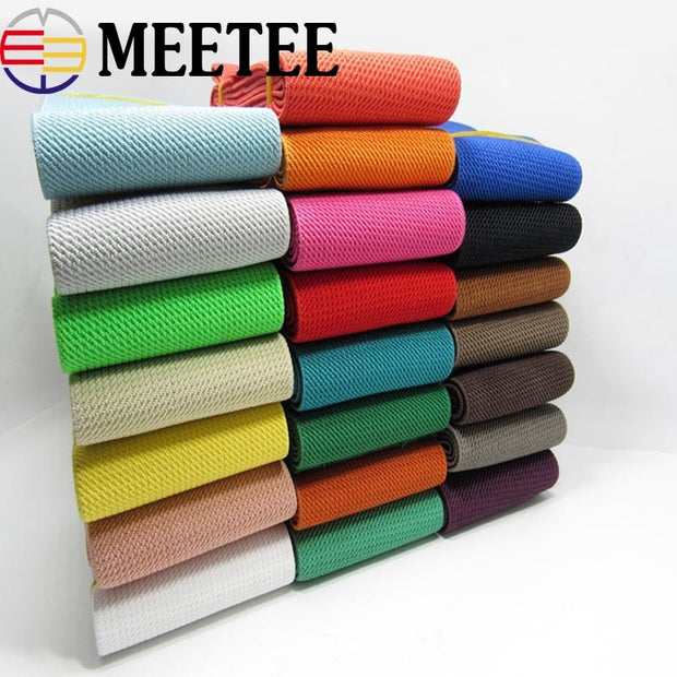 3Meters Nylon Sewing Elastic Band Soft Skin Band Underwear Pants Decorative Elastic Webbing Bias Binding Tapes DIY Accessories
