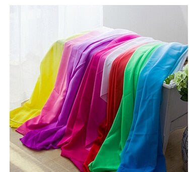 44233 50*120CM Gradient Color Koshibo Silk Fabric For Tissue Kids Bedding Textile For Sewing Tilda Doll, DIY Handmade Materials