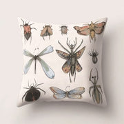 45*45 CM Natural Butterfly Pattern Pillow Polyester Pillowcase Bed/Chair/Seat Throw Pillow Covers 45*45 Cm Home New