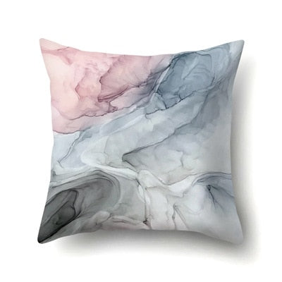 45*45cm Colorful Printed Pillowcases Graffiti Marble Print Fashion Design Pillowcase Throws Painting Pillow Case For Home