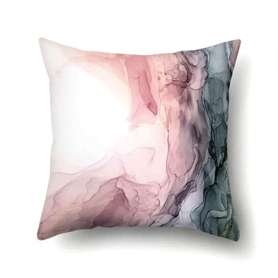 45*45cm Colorful Printed Pillowcases Graffiti Print Fashion Design Pillowcase Throws Ink Painting Pillow Case For Home