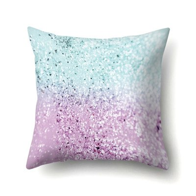 45*45cm Light Color BlingBling Heart Square Throw Pillow Case Simple Polyester Pillowcase For Living Room Bedroom