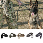 5 Colors Dog Leash Collar Training Combat Harness Military Army Nylon Leash Dog Tactical Lead Bungee Coyote Tactical
