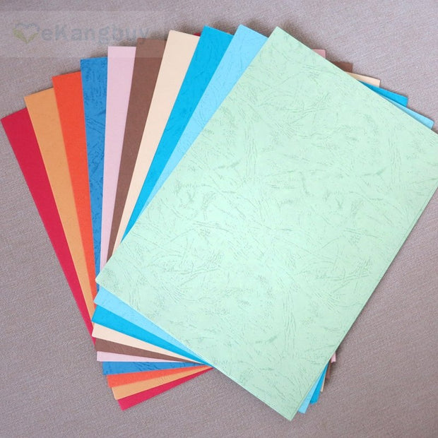 50sheets A4 Colorful Embossed Paper Dermatoglyph Paper Diy Invitation Card Making Craft Paper